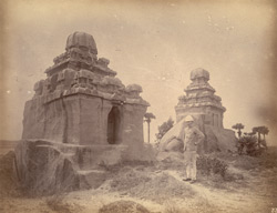 Two unfinished rathas, Mamallapuram 10032230